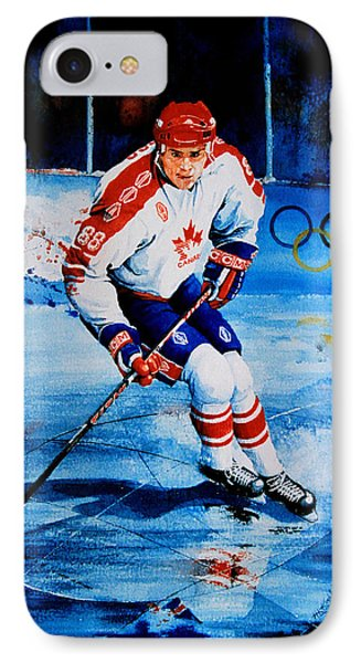 Lindros IPhone Case by Hanne Lore Koehler