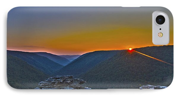 Lindy Point Sunset IPhone Case