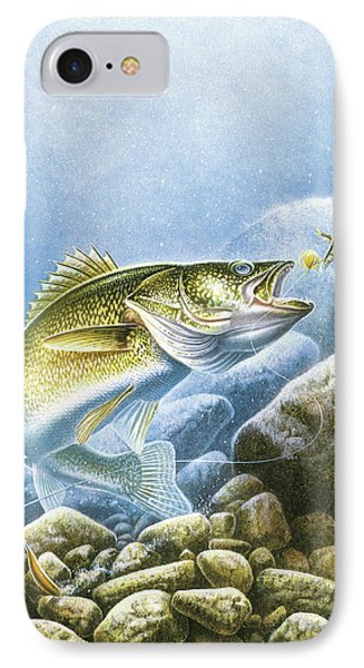 Lindy Walleye IPhone Case