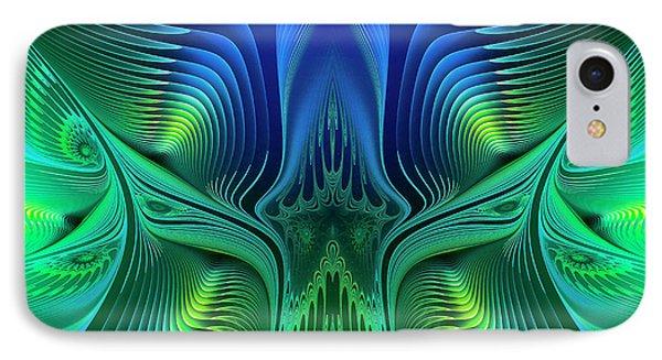IPhone Case featuring the digital art Line Art by Jutta Maria Pusl