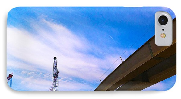 IPhone Case featuring the photograph Lineing The Sky by Jamie Lynn