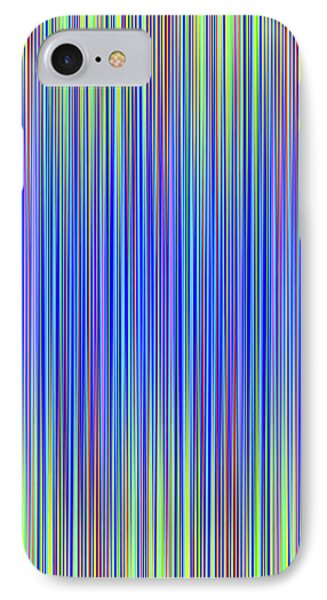 IPhone Case featuring the digital art Lines 103 by Bruce Stanfield