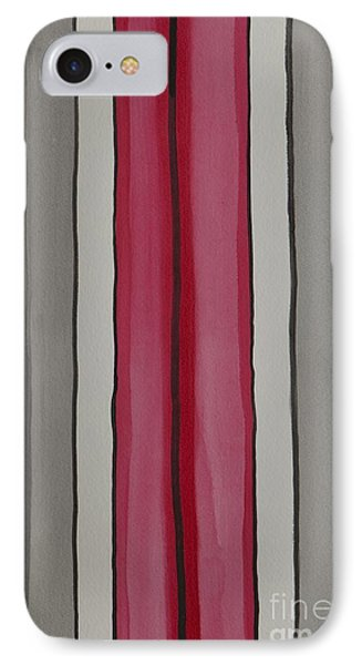 IPhone Case featuring the painting Lines by Jacqueline Athmann