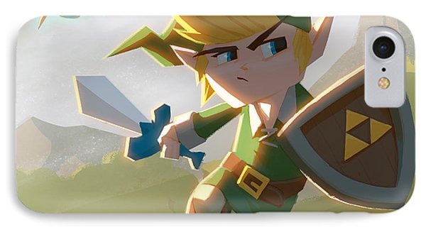 Link IPhone Case by Adam Ford