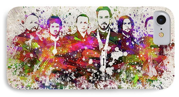 Linkin Park In Color IPhone 7 Case