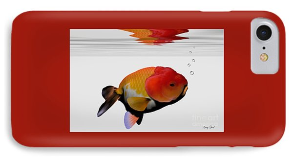 Lion-head Goldfish Phone Case by Corey Ford