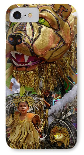 Lion King Of The Band At The Junior Caribana Parade In Toronto 2 IPhone Case by Reimar Gaertner