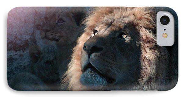 Lion Light IPhone Case