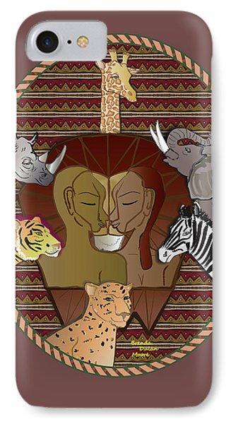 Lion Mutation IPhone Case