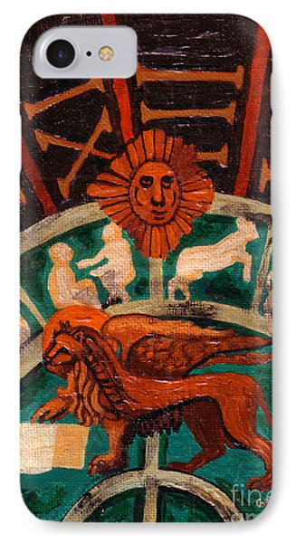 IPhone Case featuring the painting Lion Of St. Mark by Genevieve Esson