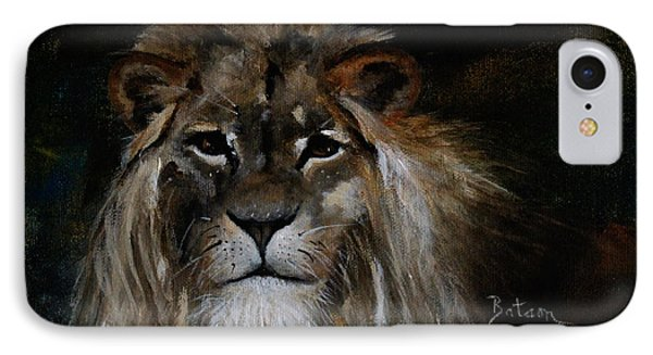 Sargas The Lion IPhone Case by Barbie Batson