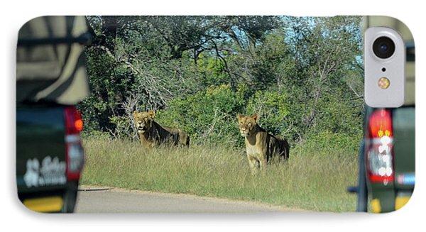 Lion Watch IPhone Case