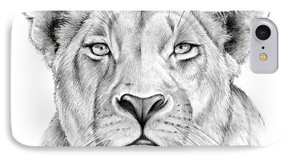 Lioness IPhone Case by Greg Joens