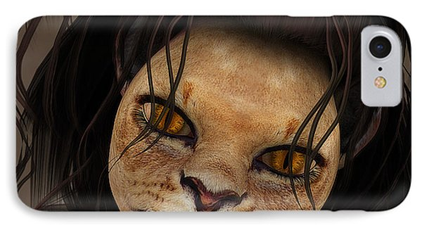 Lioness Phone Case by Jutta Maria Pusl
