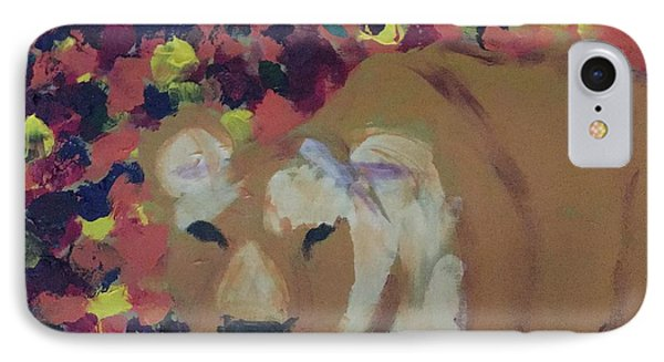 IPhone Case featuring the painting Lioness Pride 1 Of 6 by Donald J Ryker III