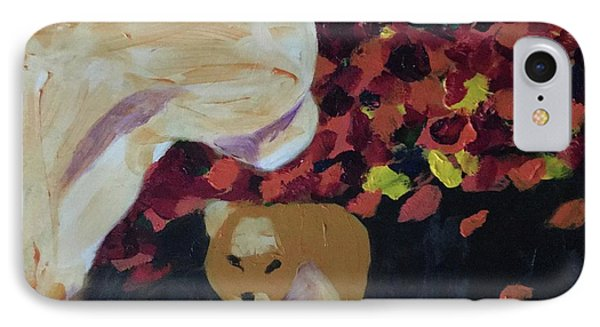 IPhone Case featuring the painting Lioness' Pride 3 Of 6 by Donald J Ryker III