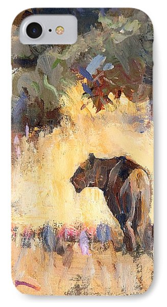 Lioness Stalking Phone Case by Ron Wilson