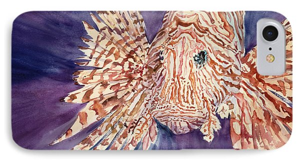 Lionfish Phone Case by Tanya L. Haynes - Printscapes