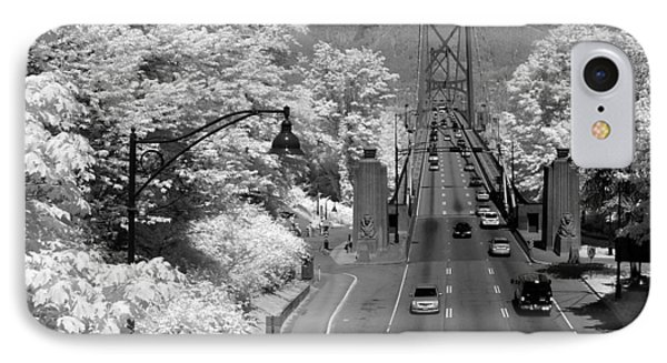 Lions Gate Bridge Summer Phone Case by Bill Kellett