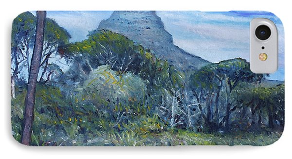 Lions Head Cape Town South Africa 2016 Phone Case by Enver Larney
