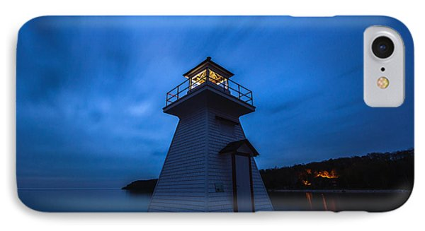 Lions Head Lighthouse IPhone Case by Cale Best