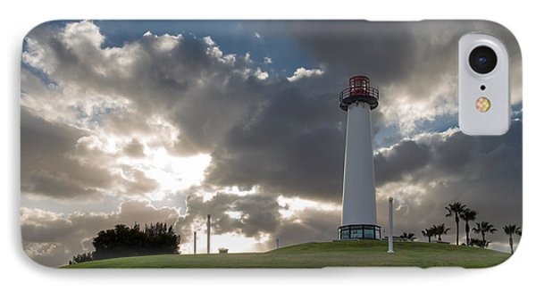 Lion's Lighthouse For Sight - 2 IPhone Case