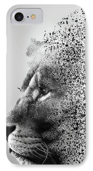 Lions Mind IPhone Case