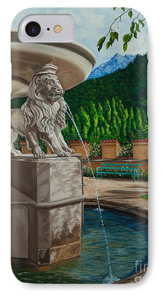Lions Of Bavaria Phone Case by Charlotte Blanchard