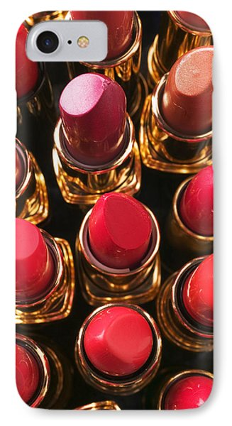 Lipstick Rows Phone Case by Garry Gay
