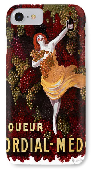 Liqueur Cordial-medoc - Paris 1908 IPhone Case by Daniel Hagerman