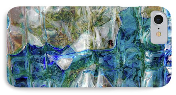 IPhone Case featuring the photograph Liquid Abstract #0061 by Barbara Tristan