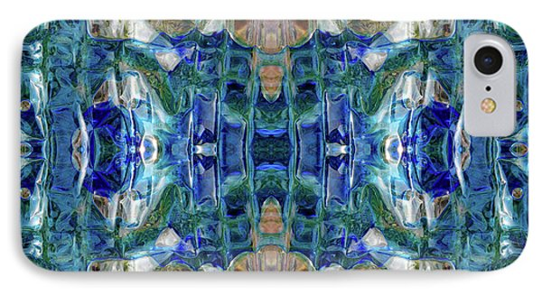 IPhone Case featuring the digital art Liquid Abstract #0061_1 by Barbara Tristan
