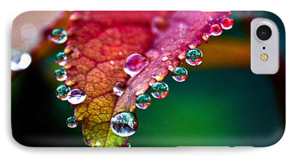 Liquid Beads IPhone Case by Christopher Holmes