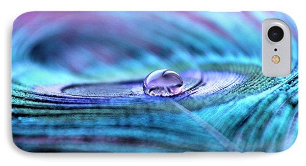 Peacock iPhone 7 Case - Liquid Bliss by Krissy Katsimbras