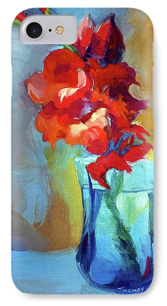 Liquid Gladiolas IPhone Case