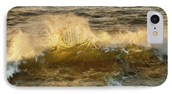 IPhone Case featuring the photograph Liquid Sunbeam by Mary Jo Allen