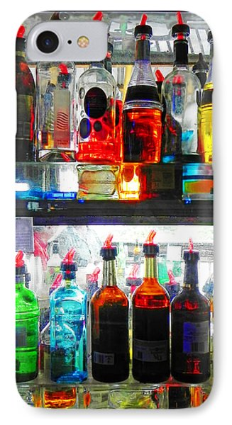 Liquor Cabinet IPhone Case by Francesa Miller
