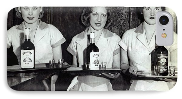 Liquor Is Served - Prohibition Ends 1933 IPhone Case by Daniel Hagerman