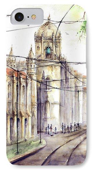 Lisbon Belem Jeronimos Tram IPhone Case