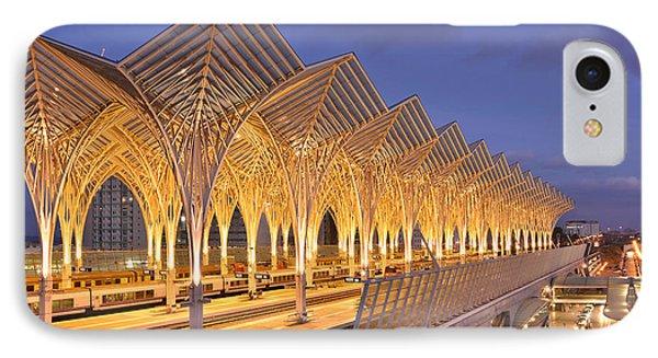 IPhone Case featuring the photograph Lisbon Gare Do Oriente by Marek Stepan