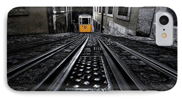 Lisbon Tram IPhone Case by Jorge Maia