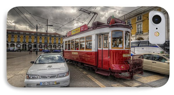 Lisbon Tram IPhone Case