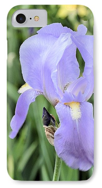 Lissy Iris IPhone Case by Marsha Heiken