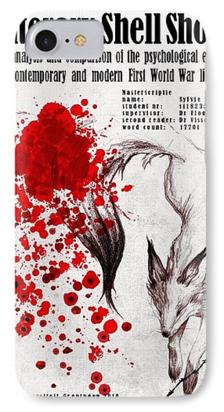 Literary Shell Shock IPhone Case