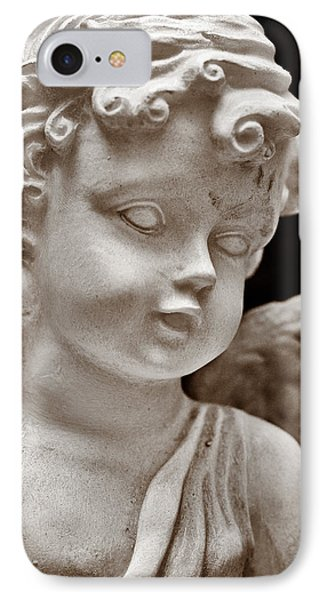 Little Angel - Sepia Phone Case by Christopher Holmes
