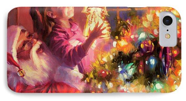 Little Angel Bright IPhone Case by Steve Henderson