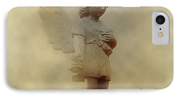 Little Angel In The Clouds Phone Case by Bill Cannon