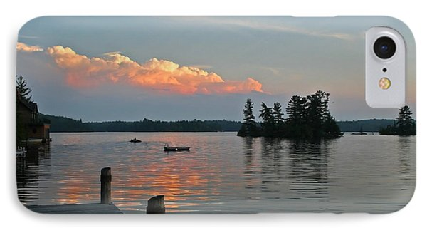 Little Bald Lake IPhone Case by Barbara McMahon