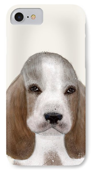 IPhone Case featuring the painting Little Basset Hound by Bri B