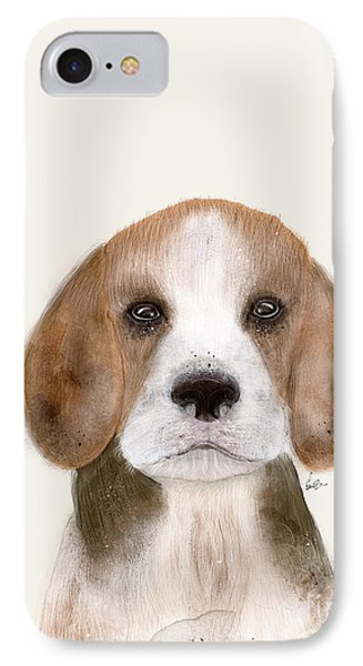 IPhone Case featuring the painting Little Beagle by Bri B